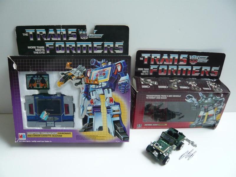 Les Transformers Milton Bradley (MB) - France Soundw10