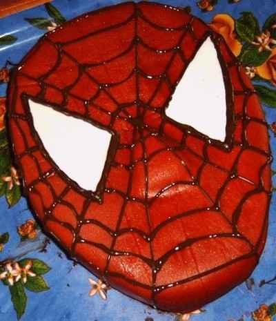 gateau spiderman Gateau10
