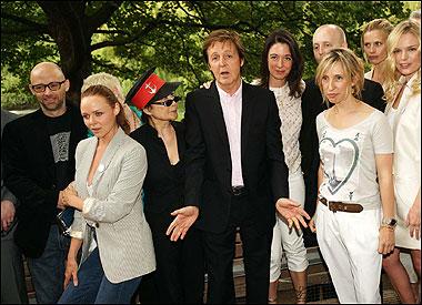ENVIRONNEMENT : L'ancien Beatles Paul McCartney appelle aux lundis végétariens Maccac10