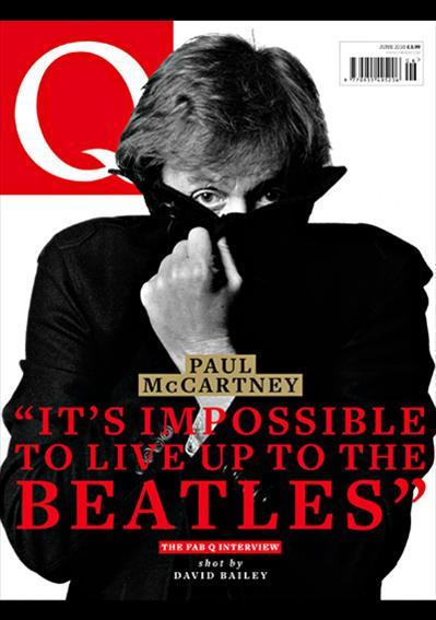 Paul McCartney en couverture du nouveau Q Magazine P8913010