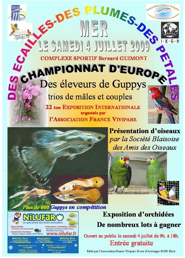 CHAMPIONNAT D'EUROPE DES ELEVEURS DE GUPPYS Affich14
