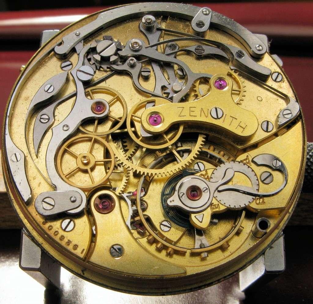 Le premier chronographe mis au point par ZENITH 211