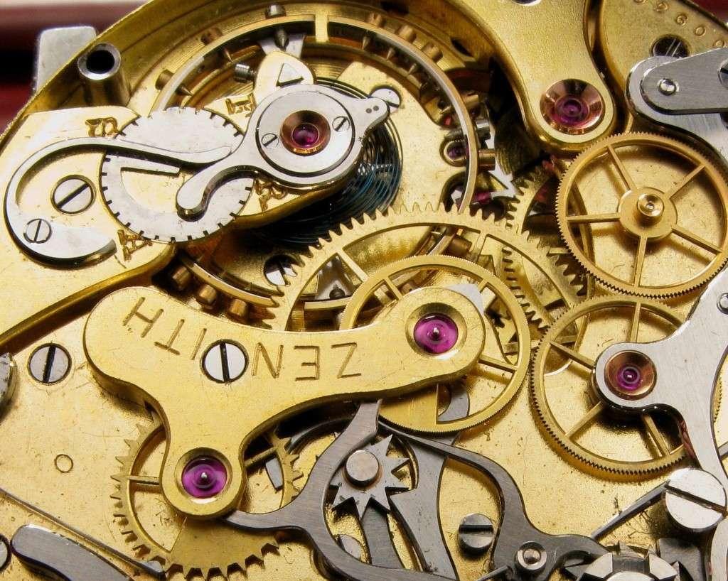 Le premier chronographe mis au point par ZENITH 312