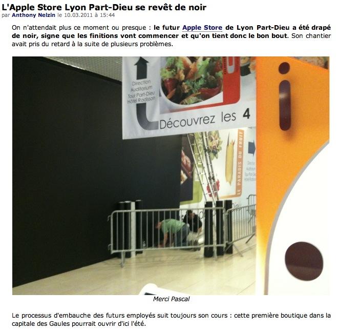 Apple Store à Lyon Captu400
