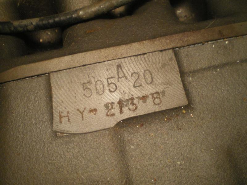 identification moteur 00110