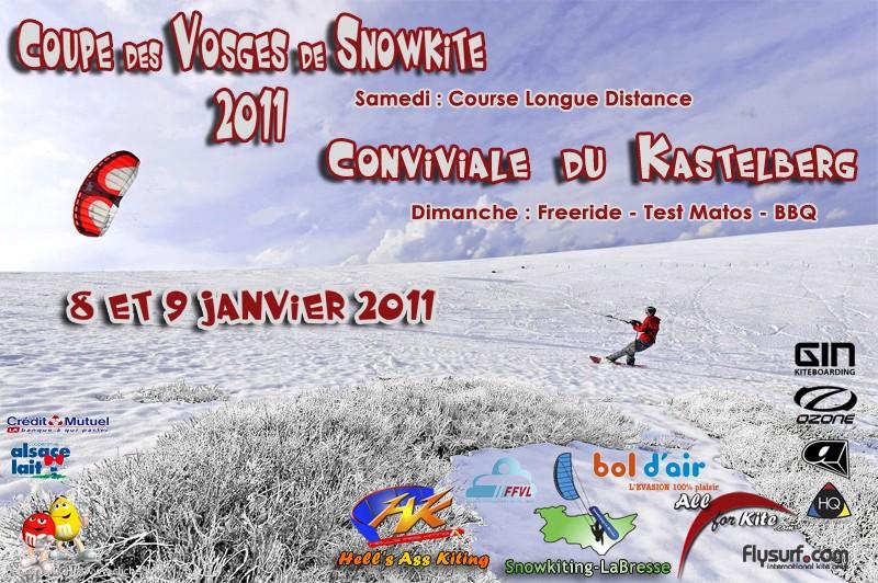 Coupe des Vosges de Snowkite Affich18