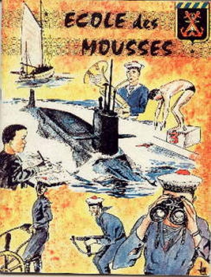 [ École des Mousses ] 2ème compagnie mars 72 - mars 73 Ecoled13