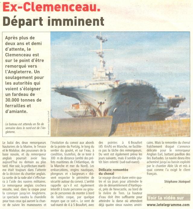 Démantèlement du Clemenceau et Colbert... - Page 7 Numari27