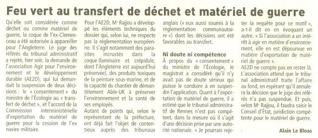 Démantèlement du Clemenceau et Colbert... - Page 7 Numari28