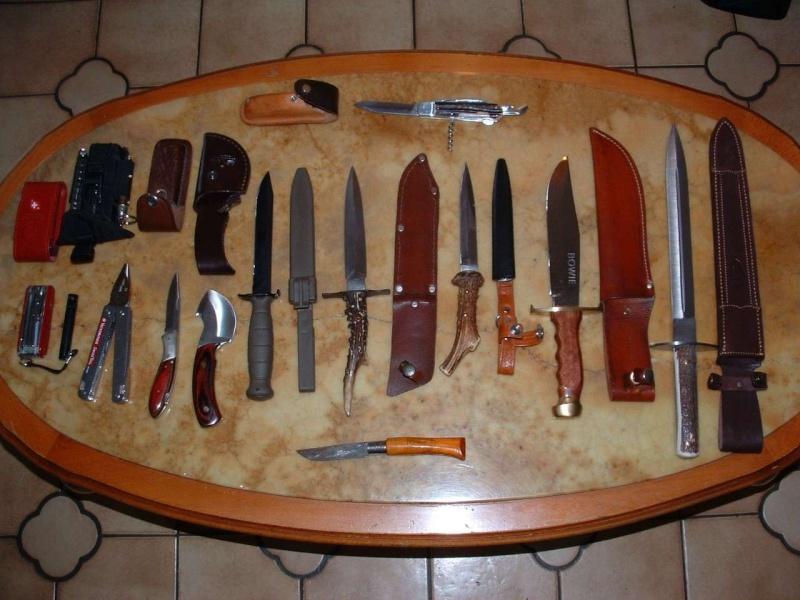 vos couteaux de chasse et leurs usages ... Ensemb10