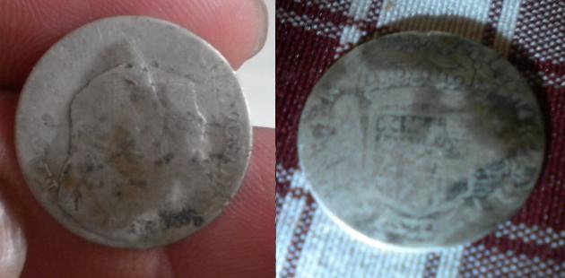 1/2 Lira (10 Soldi) de Vittorio Amadeo II (Torino, 1675 - 1680) Id10
