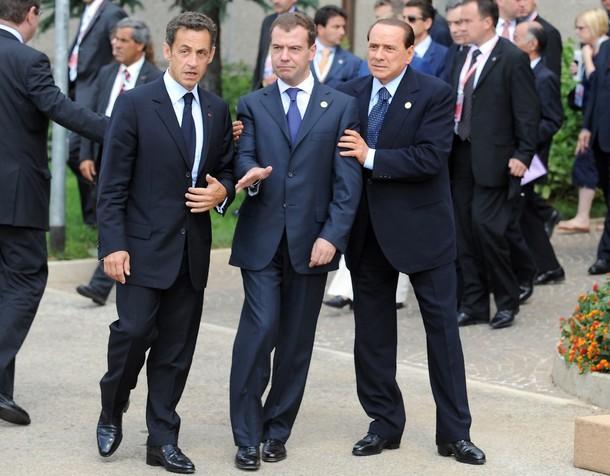 Le président russe après le déjeuner du G8! Image-10