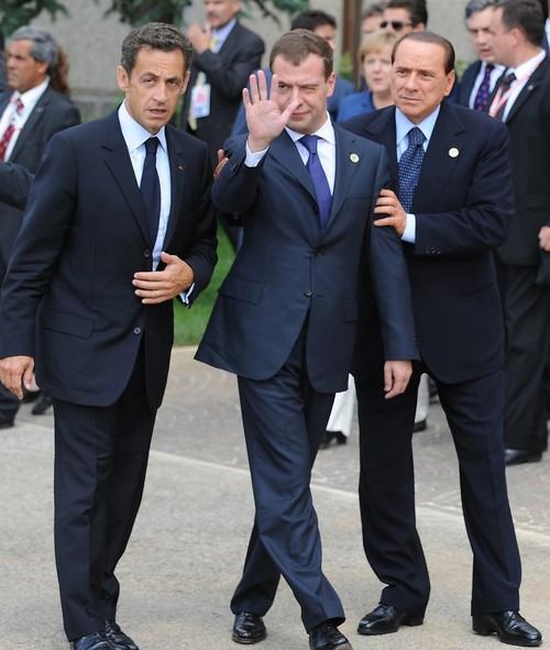 Le président russe après le déjeuner du G8! Image-11