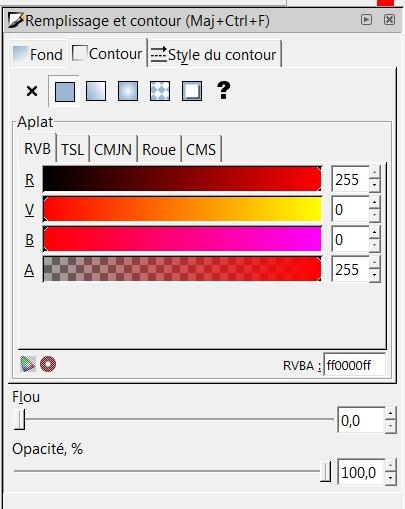 Découper en pointillé sous inkscape Rouge10