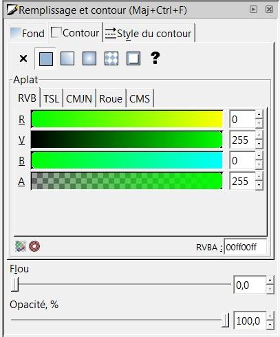 Découper en pointillé sous inkscape Vert10