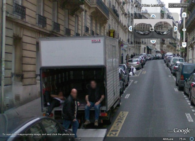 STREET VIEW : Comment coincer la bulle Bossed10