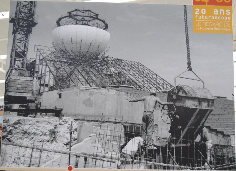 La construction du Futuroscope en images Nr_19810
