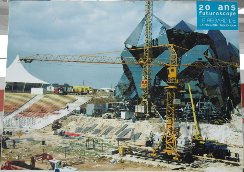 La construction du Futuroscope en images Nr_19812