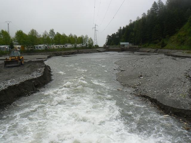 Vidange du lac d'Artigues P1020413