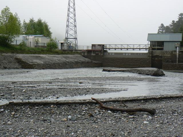 Vidange du lac d'Artigues P1020414