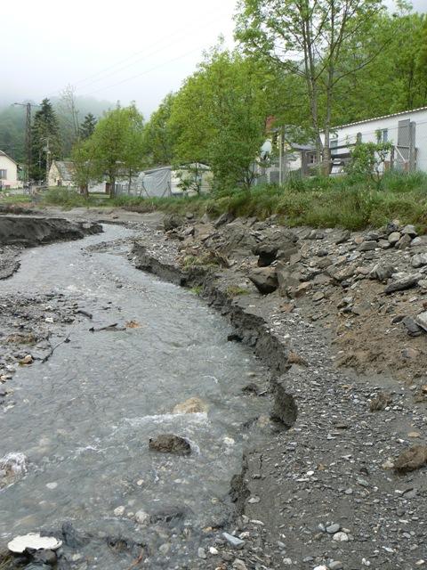Vidange du lac d'Artigues P1020415