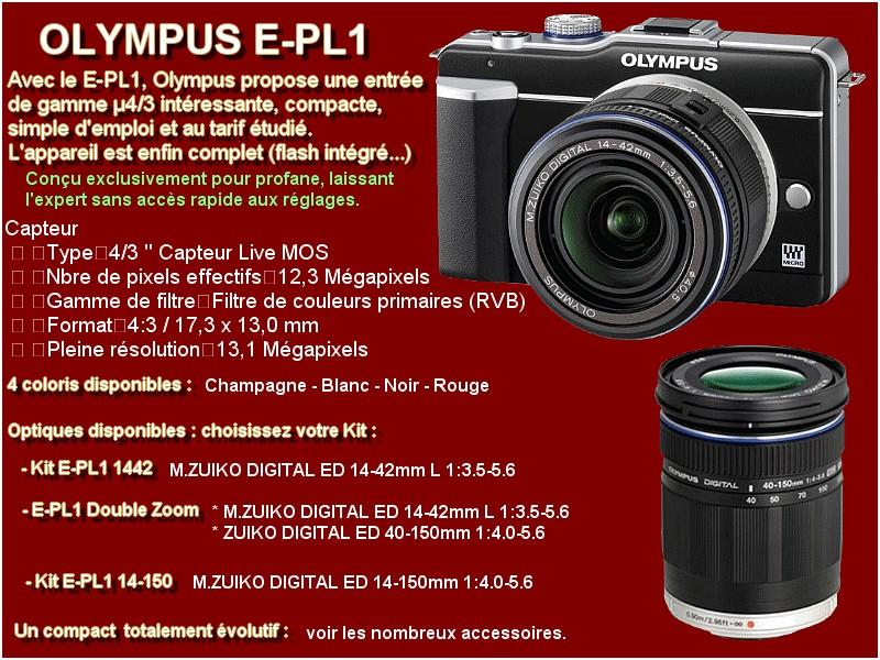 2010/2011 OLYMPUS E-PL1 E-pl110