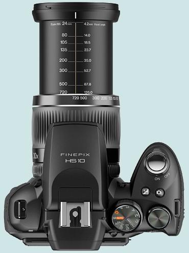 Fuji FinePix HS10, zoom 30x, annoncé pour mi-avril 2010 Finepi14