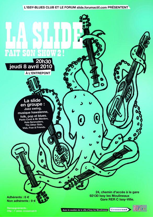 La Slide fait son show #2 à Issy - 8 avril 2010 Affich13