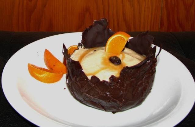 Mousse au café en coupelles de chocolat Img_8613