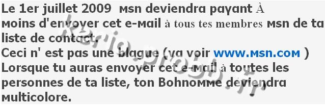 HOAX : Le 1er juillet 2009 MSN deviendra payant Dsdgfd10