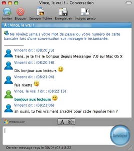 messenger mac os x