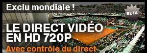 Le tournoi de tennis Roland-Garros en direct Roland10