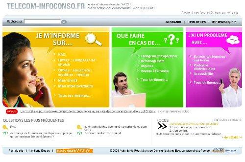 L'Arcep lance un nouveau site pour les consommateurs Teleco10