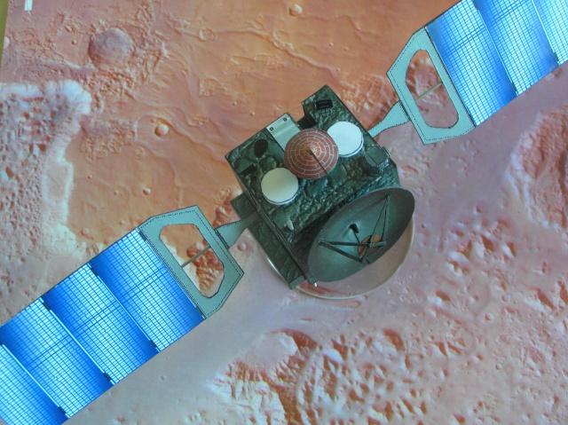 Mars Express  1/40  papier P5270013
