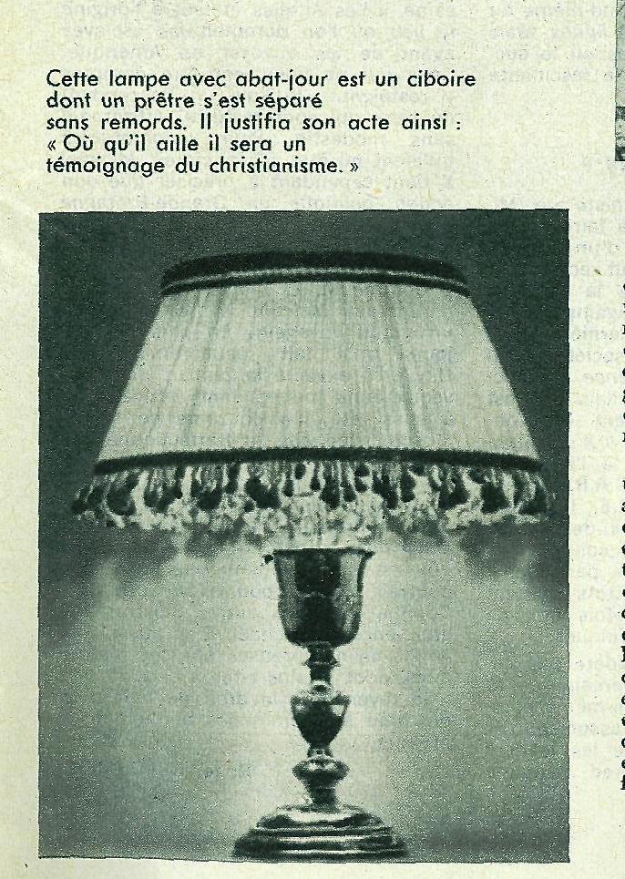 LA PERSÉCUTION ICONOCLASTE (726-842) Lampes10