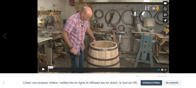 Fabrication des tonneaux Vimeo10