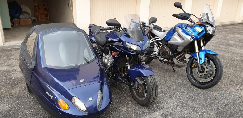 Side-car 1200 XTZ + Sénior 20190920