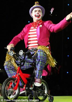 """Photos de """"The Circus Live""""2009 Tct410"""