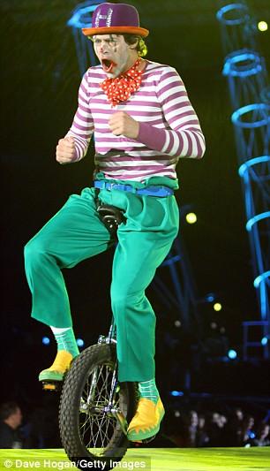 """Photos de """"The Circus Live""""2009 Tct710"""