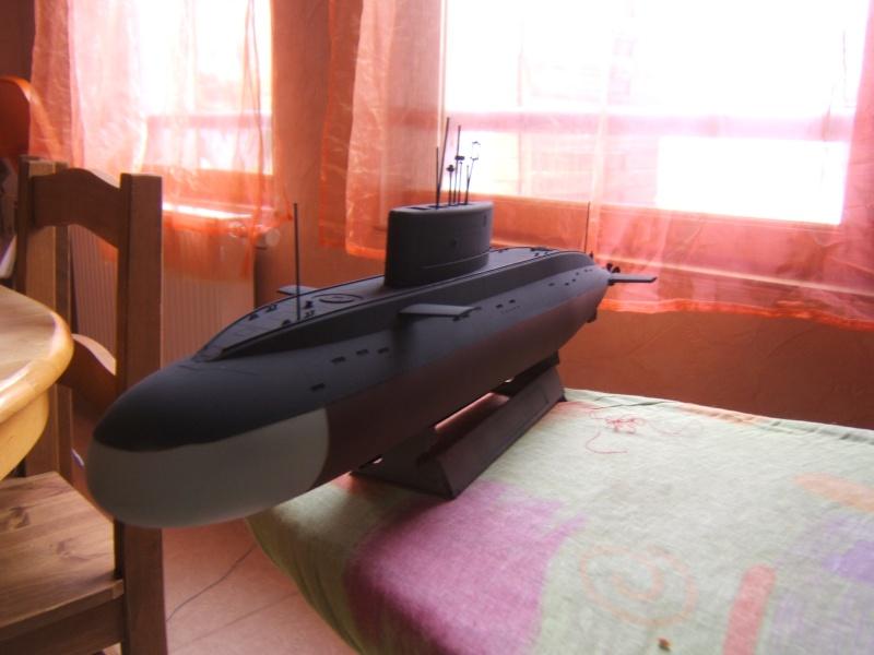 Sous-marin Russe KILO CLASS ATTACK par Redoutable au 1/144 - Trumpeter Dscf3112