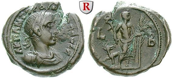 Classement des tétradrachmes d'Alexandrie  37496l10