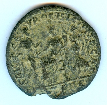 medaillon colonial de Gordien III Numari18