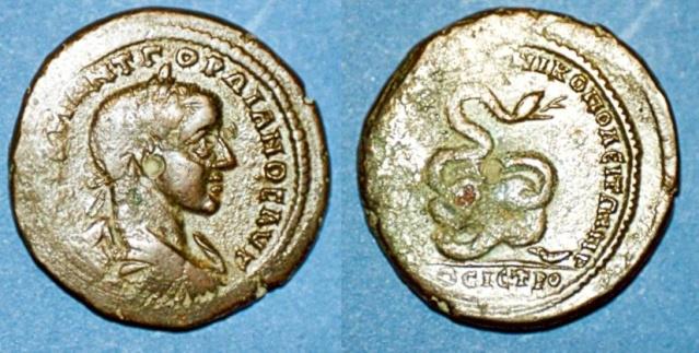 Monnayage de Nikopolis Numari85