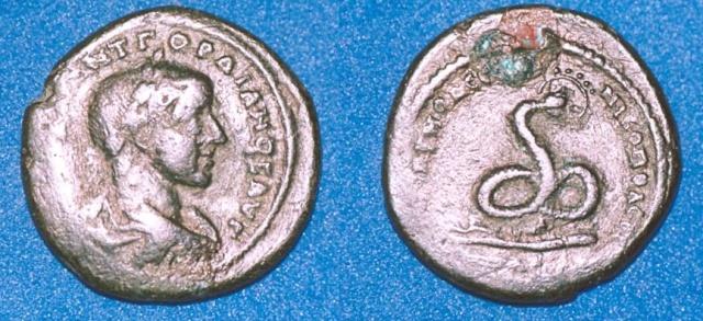 Monnayage de Nikopolis Numari86