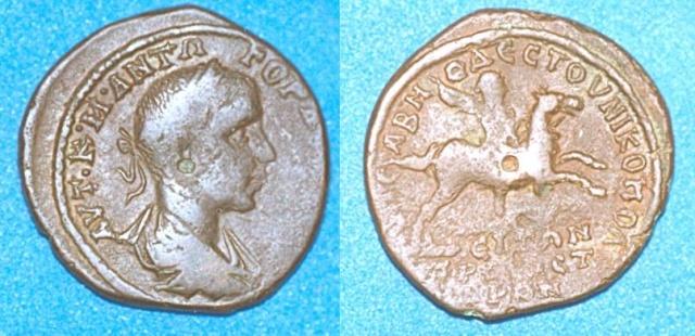 Monnayage de Nikopolis Numari87