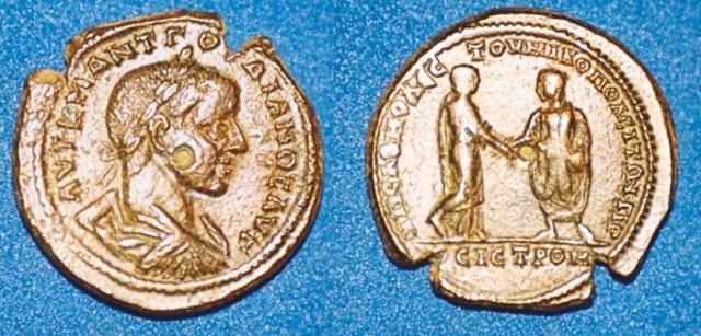 Monnayage de Nikopolis Numari88