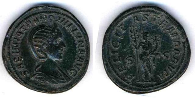 Corpus des monnaies de bronze de Tranquilline Tranqu11