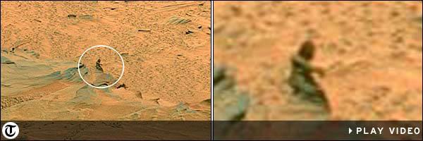 Une maman sur Mars et les autres découvertes sur Mars Statue11