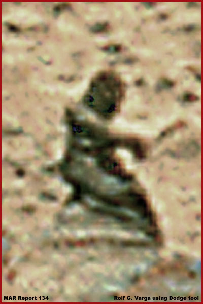 Une maman sur Mars et les autres découvertes sur Mars Statue12