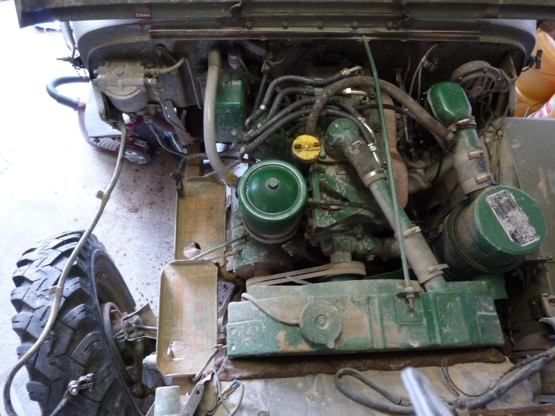 nettoyage moteur willys 1961 P1000013